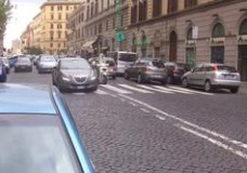 Rome driving