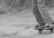 Montsec by wave (2 wheels skate)